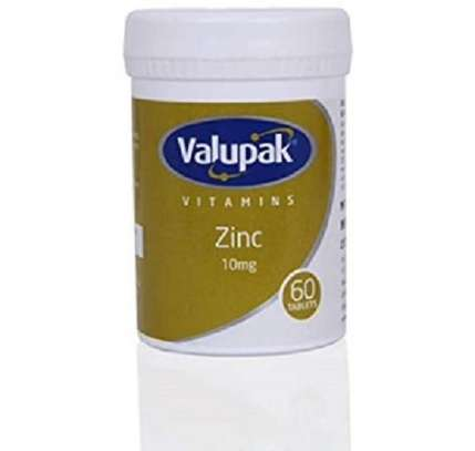 Valupak Vitamin Zinc 10mg Tablets 60`s