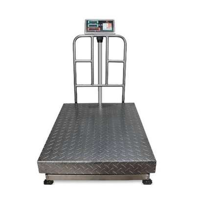 Electronic Weighing Balance LCD Display Screen TCS Bench Scale 500kg image 1