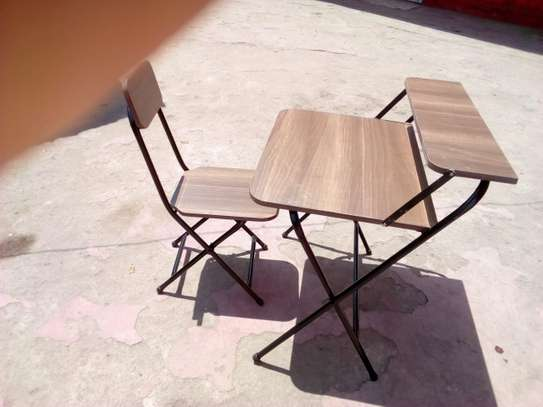Foldable Study Tables and chairs image 1