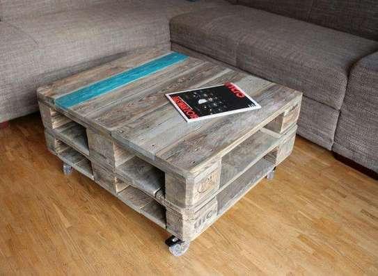 Pallet coffee tables/pallet tables/coffee tables/pallet furniture image 2
