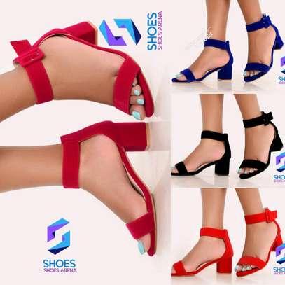 Quality Chunky Heels image 7
