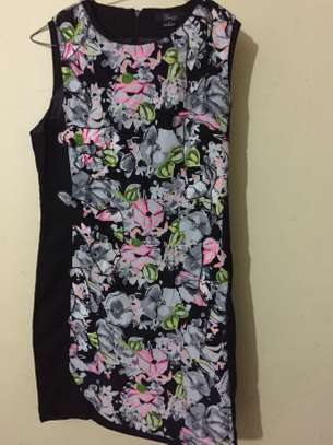 Floral Printed  Sleeveless