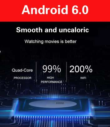 Smart TV Android Projector FHD supports 4K 3D  3,200 lumens image 2