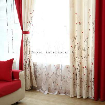 EUROPEAN MODERN COTTON LINEN CURTAINS image 3