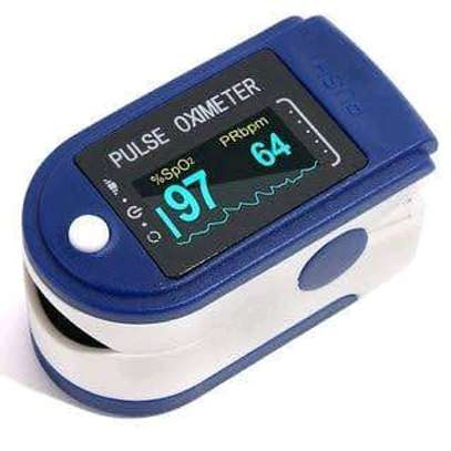 Oxygen monitor pulse oximeter image 1