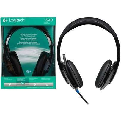Logitech H540 USB Headset with Noise Cancelling Mic image 1