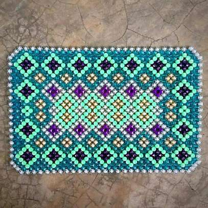 Beaded Table Mats (Large) image 3