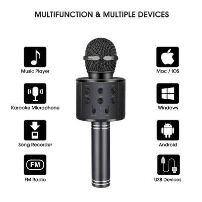 Karaoke Microphone with Bluetooth image 5