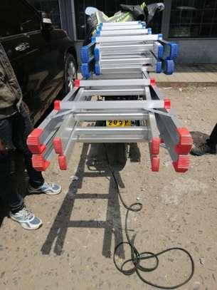 3 Step Aluminium Ladders image 2