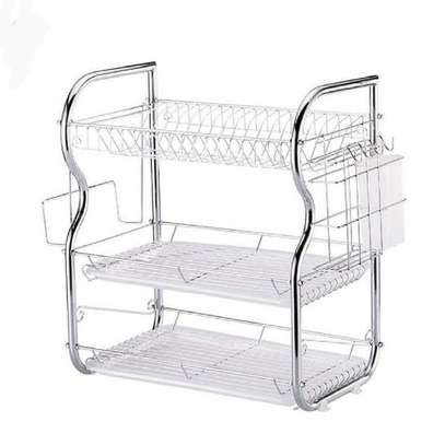 Generic 3Tier Stainless Steel Dish Drainer Dry Rack image 4