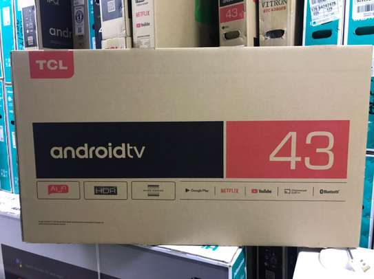 43 inch TCL 43S6500 smart android tv image 1
