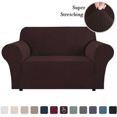 Stretchable Sofa Seat Cover 2 Seater image 1