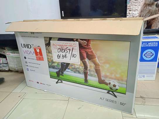 50 inch Hisense smart TV(Series 6) in shop+Delivery Services image 2