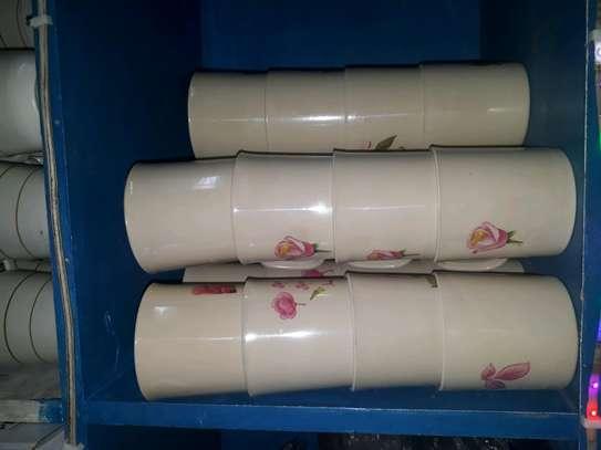 Melamine cups/12pc tea cups/12pc melamine mug image 2
