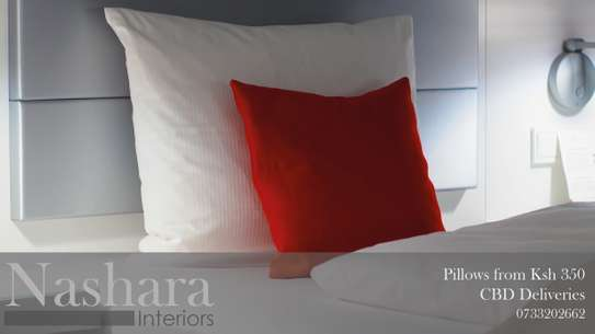 Fluffy pillows from Ksh 350.