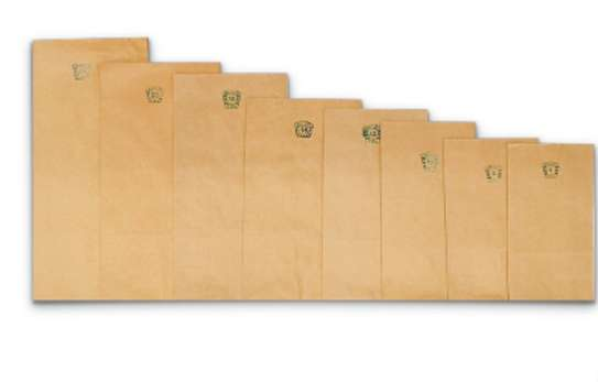 Brown Paper Khaki Bags for Packing & Storage image 3