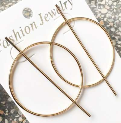 Trendy And Personality Earrings For Women  - Gold