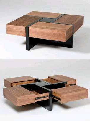Coffee tables/coffee table with drawers/unique livingroom coffee tables image 1