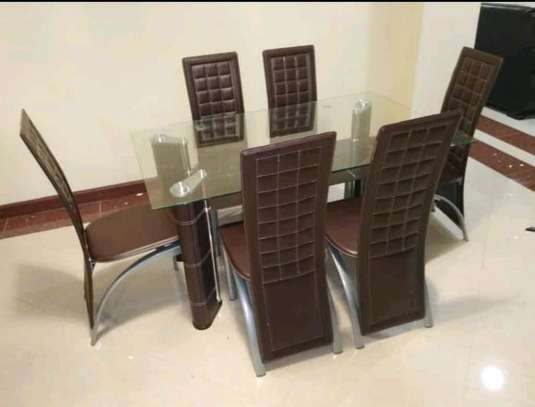 6 Seaters Dining Table set. image 1