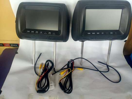 7 INCH TFT LED SCREEN HEADREST MONITOR image 1