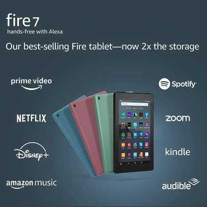 """Fire 7 tablet, 7"""" display, 16 GB image 1"""