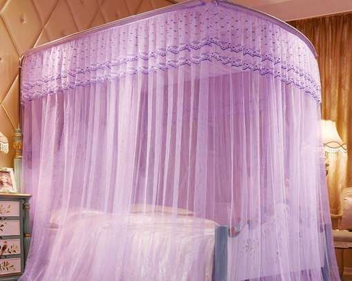 2 STAND MOSQUITO NET WITH SLIDING RAILS image 1