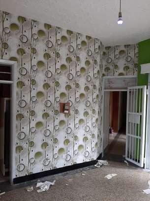rustic effect self-adhesive wall paper image 5