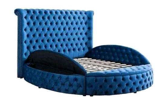 Circular tufted deep-button - beds(With storage) . image 3