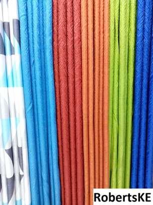 plain color curtains image 1