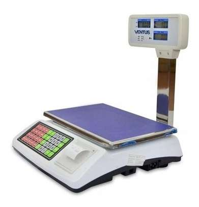 50 kg Digital Scale with Ticket Printing image 1