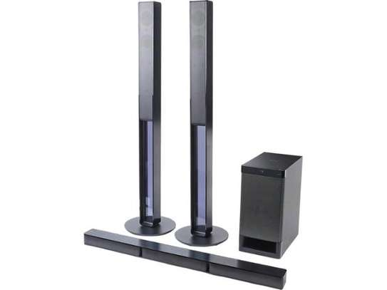 Sony HT-RT40 5.1ch Home Cinema Soundbar System with Tall-boy Rear Speakers image 1