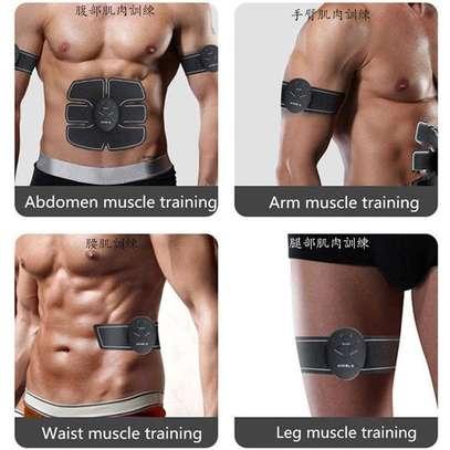 Abdominal Muscle Training Wireless EMS Belt Gym Body Massage image 7