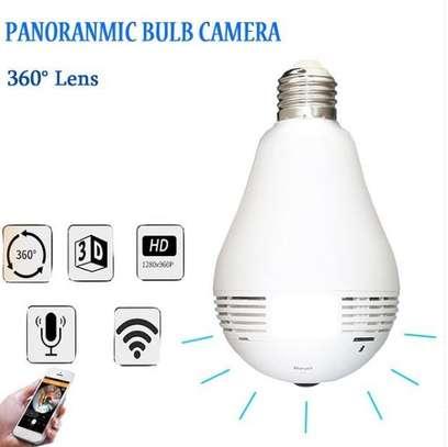 Nanny camera/panoramic camera bulb/Cctv Camera bulb image 1