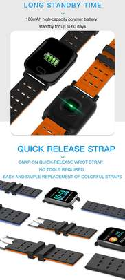 A6 Smart Watches Large Color Screen Fitness Tracker Watch Step Counter Activity Monitor Men Smartwatch For IOS Android image 3