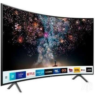 Curved UHD Samsung 55 inches Curved smart 4k image 1