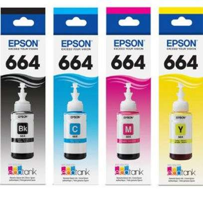 Epson 664 4 COLOUR INK BOTTLES
