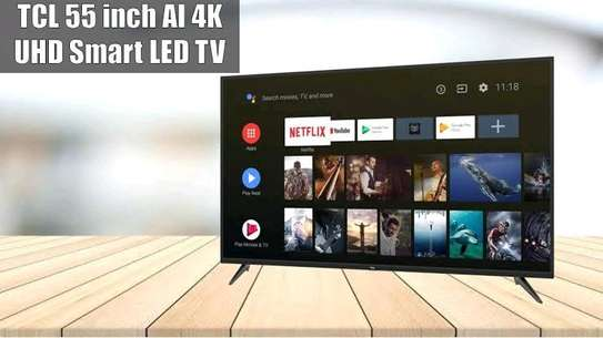 """TCL 55P8- 55"""" 4K ULTRA HD ANDROID TV, Netflix, YouTube image 1"""