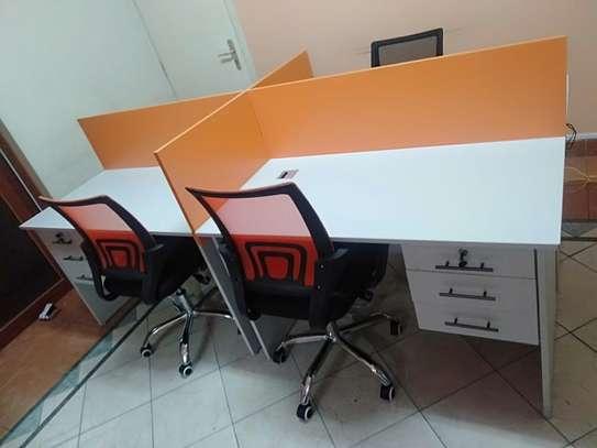 Office Desk 4 Way Workstation Station Ksh. 49,999 image 5
