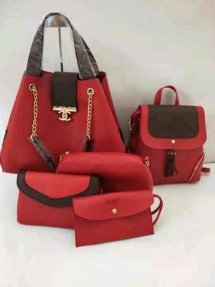 5in 1 Leather Handbags image 4
