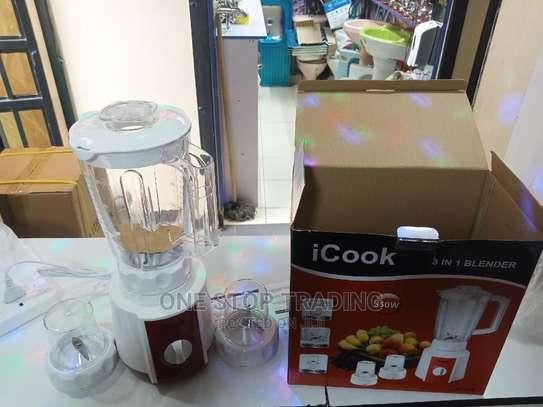 Icook 3in1 Blender image 1