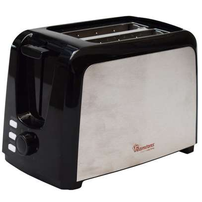 2 SLICE POP UP TOASTER STAINLESS STEEL- RM/564 image 1