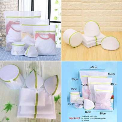 Washing machine clothes protective laundry bags image 1