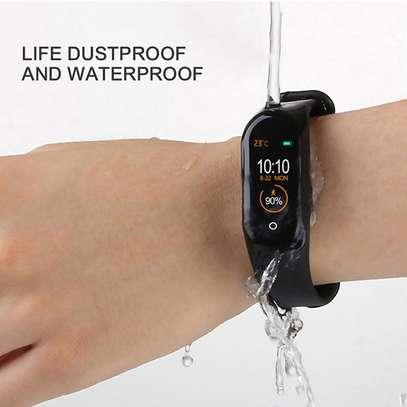 Smart Watch M4 Wireless Smart Bracelet Intelligent Wrist Band image 1