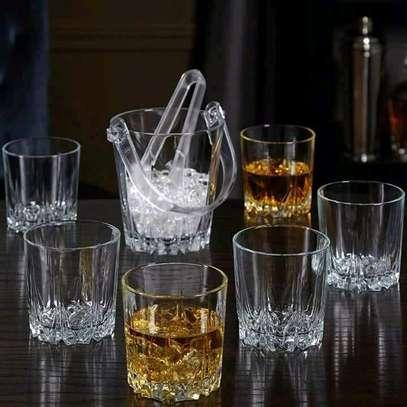 290ml whisky glasses set of 6 image 1