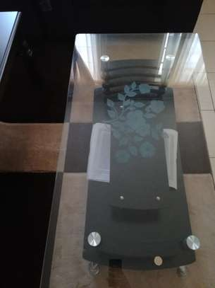 Tempered glass table image 4