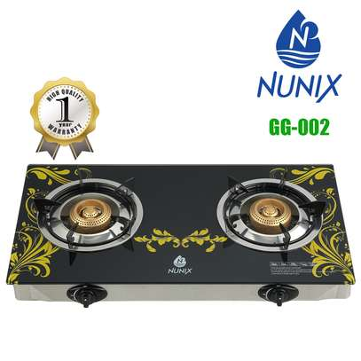 Nunix Tampered Glass Gas Table Cooker