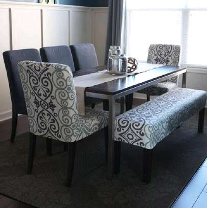 dining set/modern dining set/dining tables/six seater dining y image 3