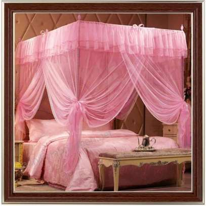 4 stand metallic Mosquito nets available in all colours image 2