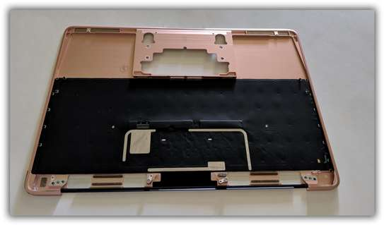 MacBook RETINA 12 A1534 2016 Rose Gold US Keyboard Top Case image 3