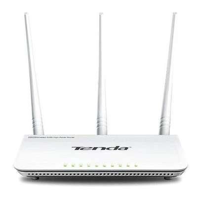 tenda Wireless N300 Easy Setup Router image 1